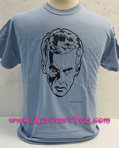 13th Doctor Peter Capaldi - Fans of The Doctor Handprinted Tee - T-shirts - Aardvark Tees