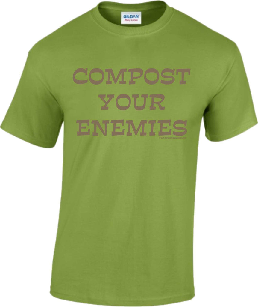 Compost Your Enemies - T-shirts - Aardvark Tees