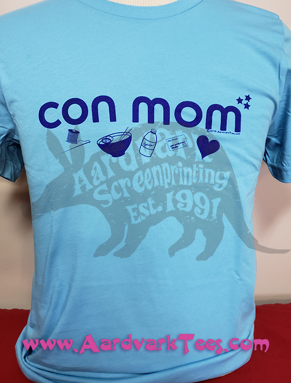 Con Mom - Aardvark Tees - Tees that Please