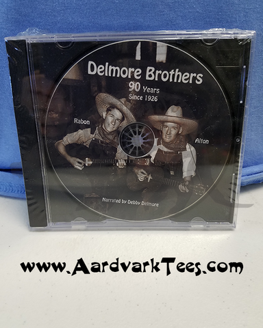 Delmore Brothers CD - Elkmont - The Delmore Brothers Since 1926 - Aardvark Tees