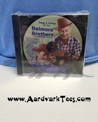 Delmore Brothers CD - Elkmont - Songs & Stories of the Delmores - Aardvark Tees