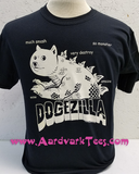DogeZilla - Kaiju Groupie Doge Meme Fanshirt - much smash. so monster. amaze. - Aardvark Tees - Tees that Please