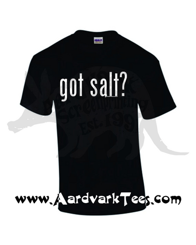 Got Salt - Supernatural Fandom and/or Gamer Tee - T-shirts - Aardvark Tees