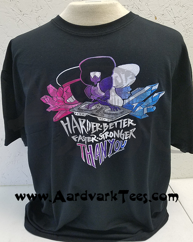 Harder, Better, Faster, Stronger Than You - Steven Universe & Daft Punk Mashup Fan Shirt - T-shirts - Aardvark Tees