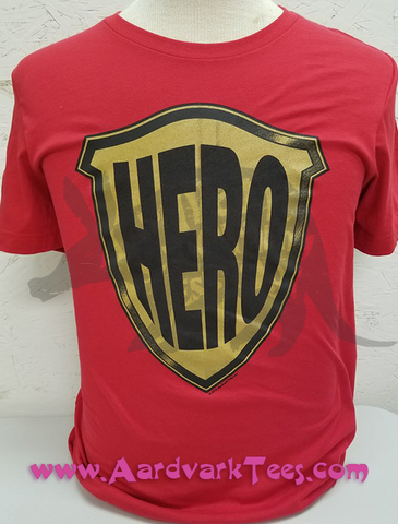Hero - T-shirts - Aardvark Tees
