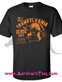 Just A Little Pinch!  Transylvania Blood Drive Kitschy Vempire Nurse Tee - Aardvark Tees - Tees that Please