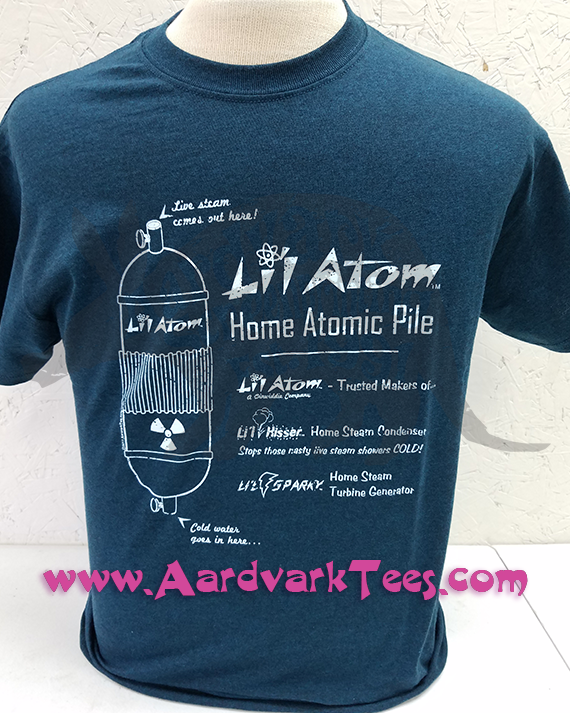 Lil Atom Home Atomic Pile - Aardvark Tees - Tees that Please