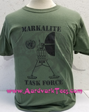 MARKALITE Task Force t-shirt - Aardvark Tees - Tees that Please