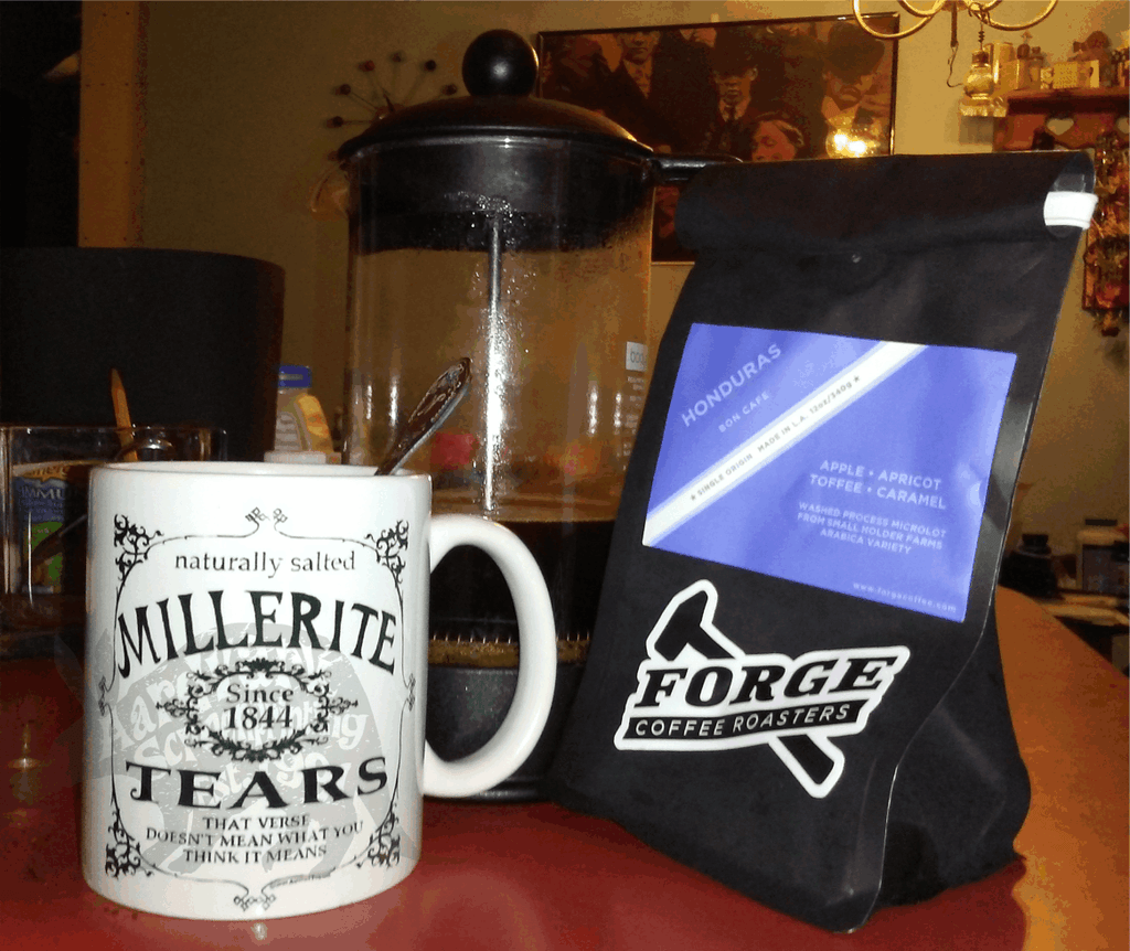 Millerite Tears MUG, Right hand