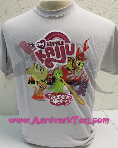 My Little Kaiju - Friendship is Mayhem - MLPFIM Parody Fanshirt