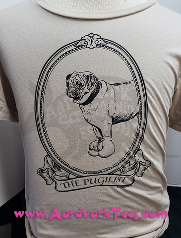 The Pugilist - Pug T-Shirt - Pet Parent Tee, Dog Parent Shirt - Aardvark Tees - Tees that Please
