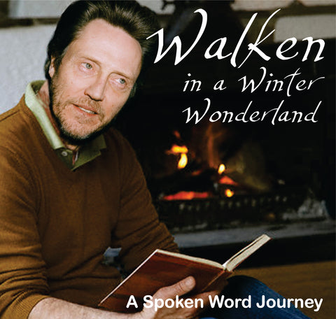 Walken in a Winter Wonderland: A Spoken Word Journey - Holiday Parody CD - Aardvark Tees - Tees that Please