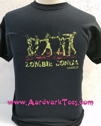 Zombie Conga - Aardvark Tees - Tees that Please