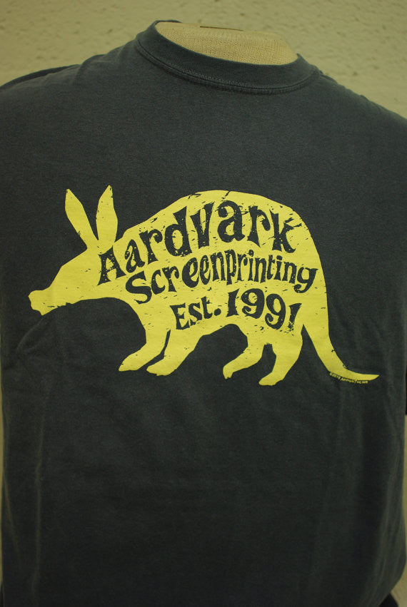 Aardvark Screenprinting Official T-shirt (25th Anniversary!) - Aardvark Tees - Tees that Please