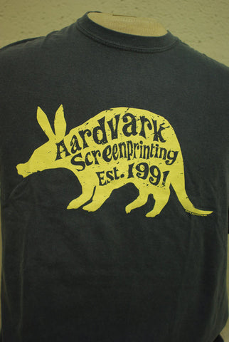 Aardvark Screenprinting Official T-shirt (25th Anniversary!) - T-shirts - Aardvark Tees