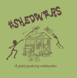 b #SHEDWARS - Ladies Racerback Tanks