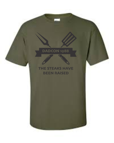 Nerdfit Network - Dadcon '88 - The Steaks Have Been Raised - T-shirts - Aardvark Tees