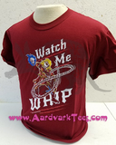 Watch Me Whip Belmont Vampire Hunter Castlevania Fan Parody T-shirt