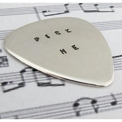 Plectrum - Sterling silver - Red Ted's Jewellery