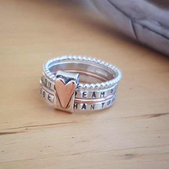 personalised rings - Red Ted's Jewellery