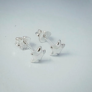 Sterling Silver Star earring studs - Red Ted's Jewellery