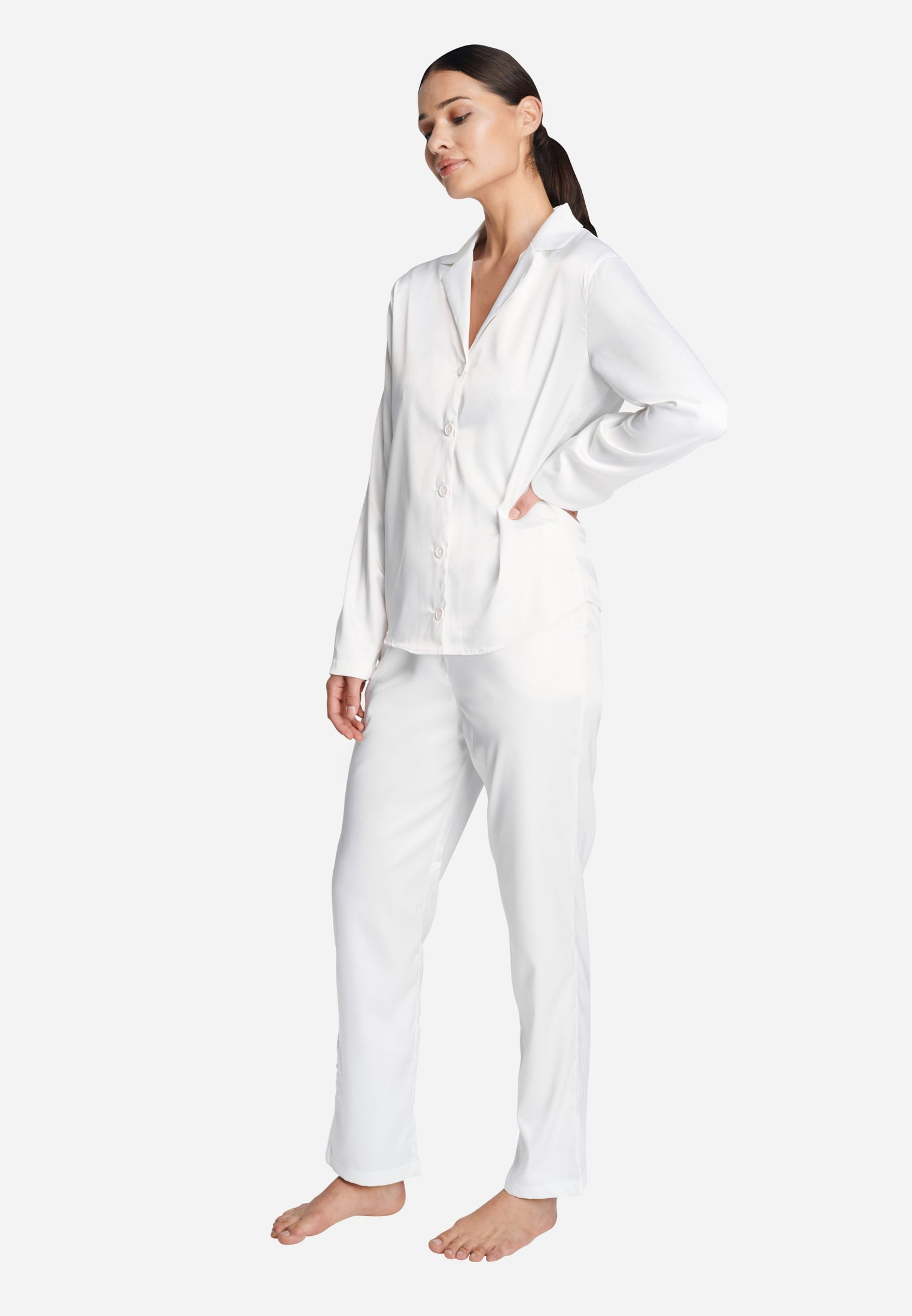 OW INTIMATES SKYE PJ Set Set 001 - White