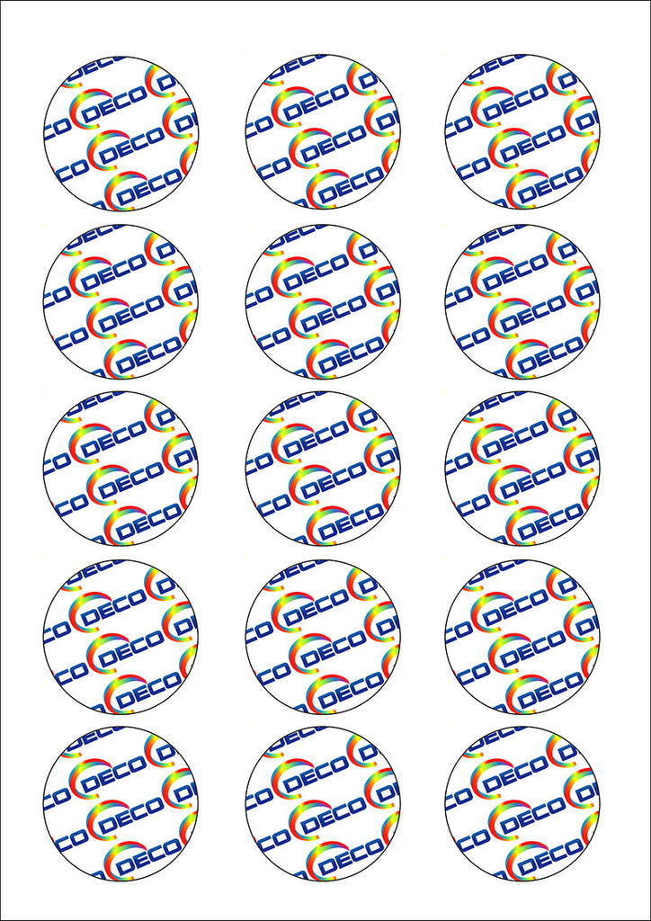 15 Circles (50mm) (24 sheets)