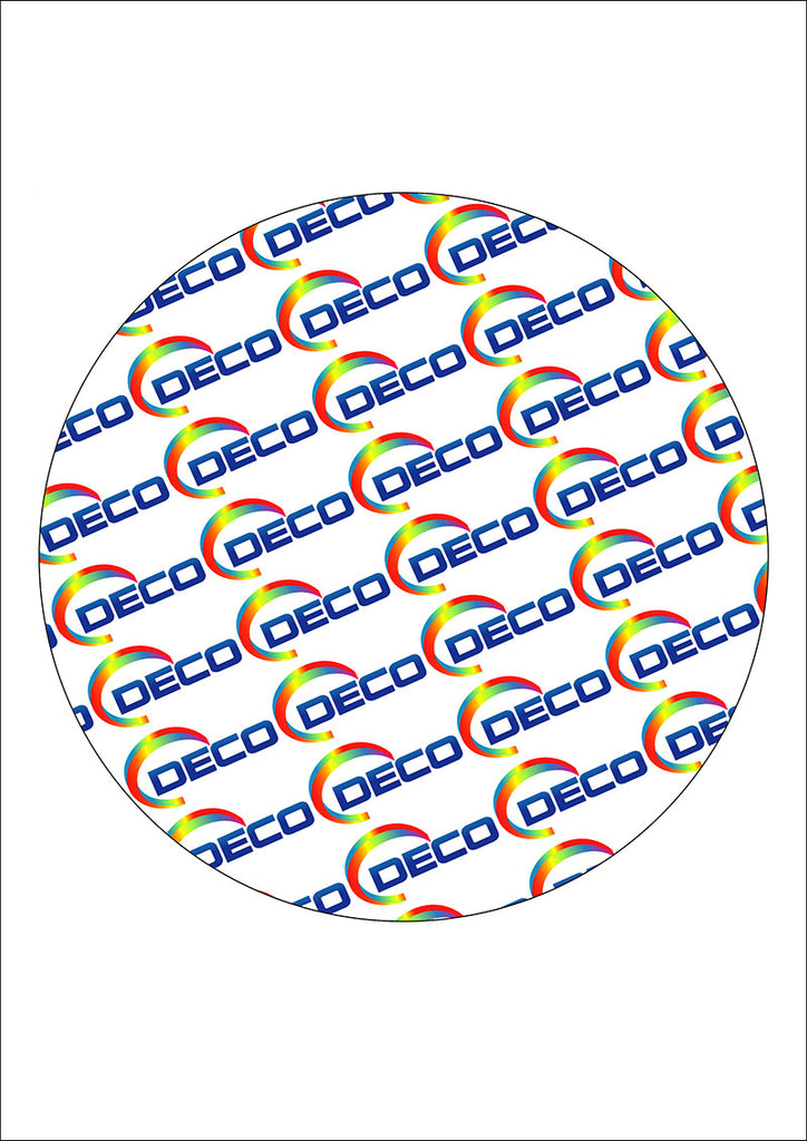1 Large Circle (190mm) (24 Sheets)