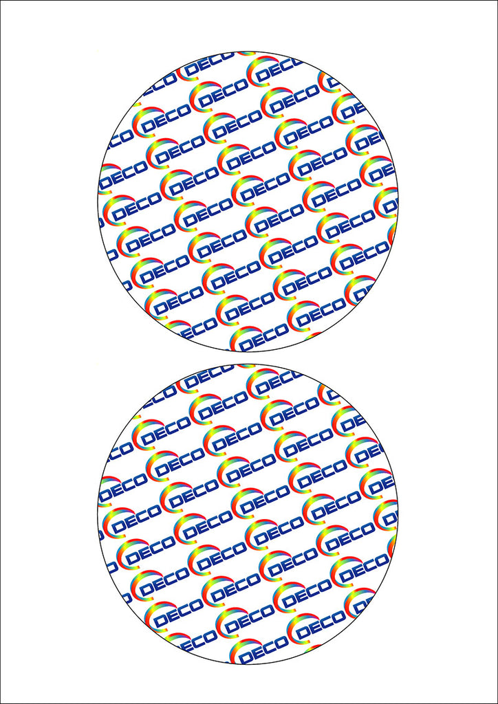 2 Circles (127mm) (24 sheets)