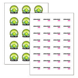 A4 Chocolate Transfer Sheets (Pack of 25)