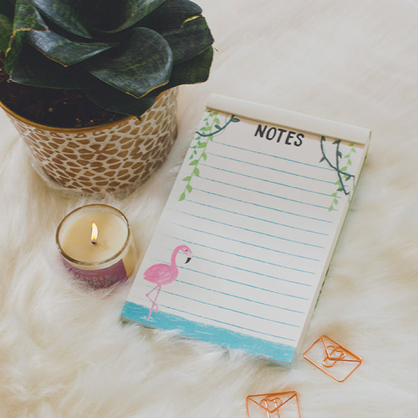 Flamingo Notepad