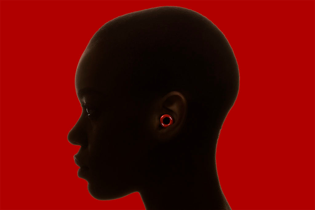 Loop earplugs for music red