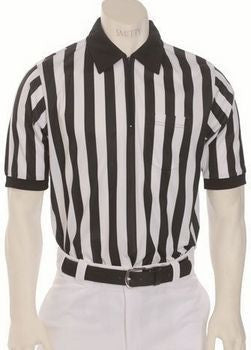 Smitty Short Sleeve Collared Polyester Referee Shirt