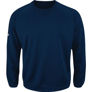 Majestic Men's Premier Home Plate Tech Fleece Pullover (available in navy or orange)