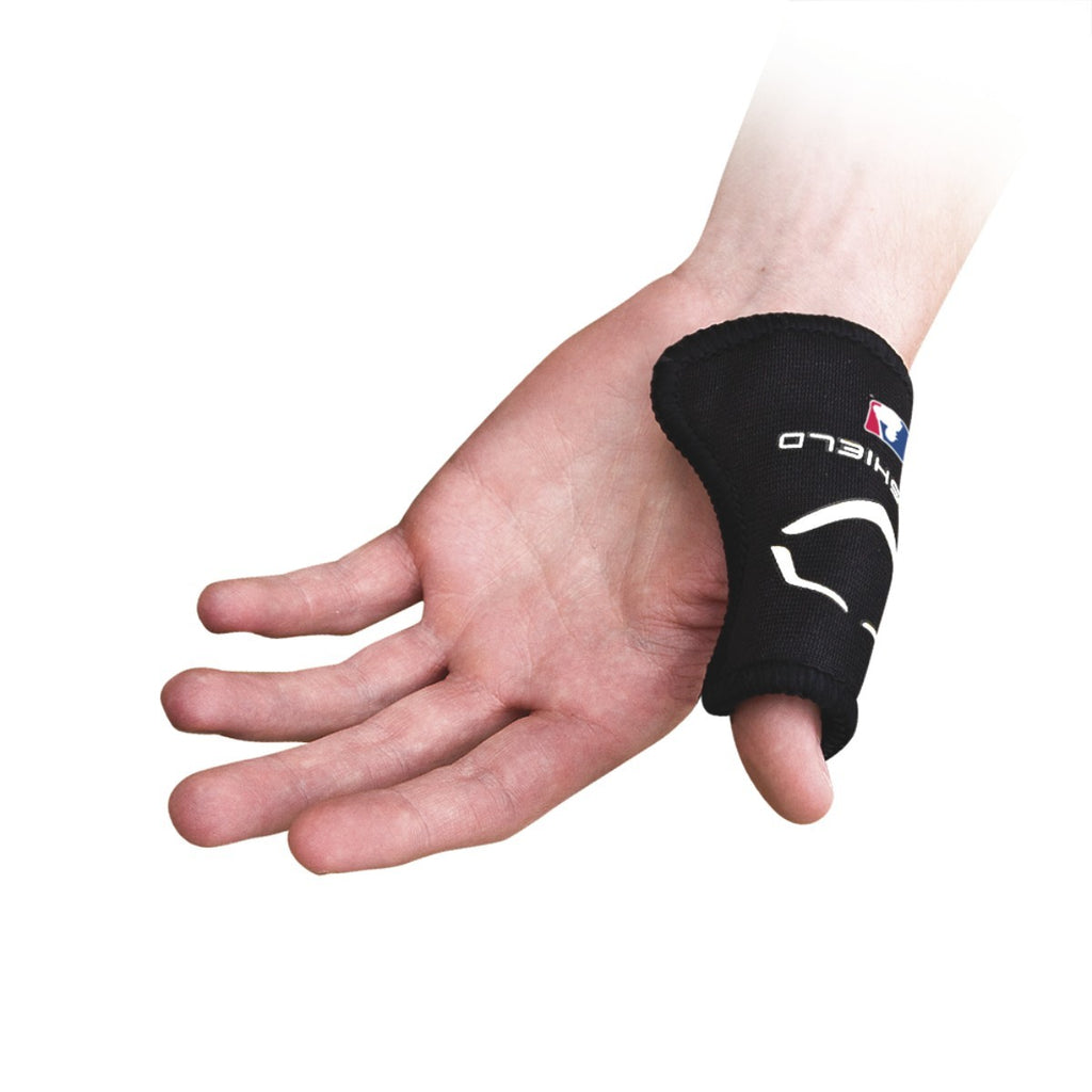 CATCHER'S THUMB GUARD - BLACK (Available In Youth or Adult)