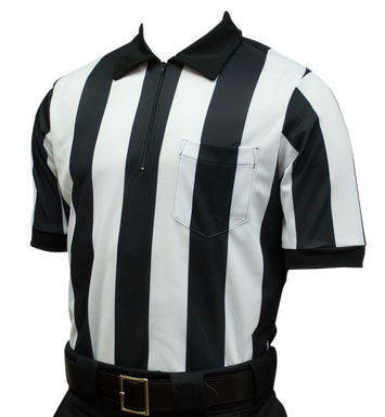 "Stripes & Strikes Short Sleeve 2"" Striped Football Referee Shirt"