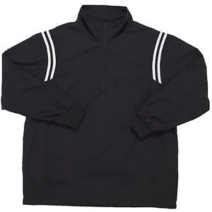 Smitty Long Sleeved Open Bottom 1/2 Zip Jacket Black 322