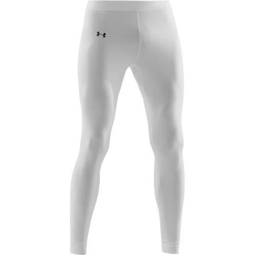 Under Armor Cold Gear Compression Leggings (White)