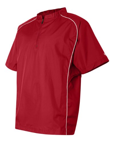 Rawlings Short Sleeve Quarter-Zip Pullover