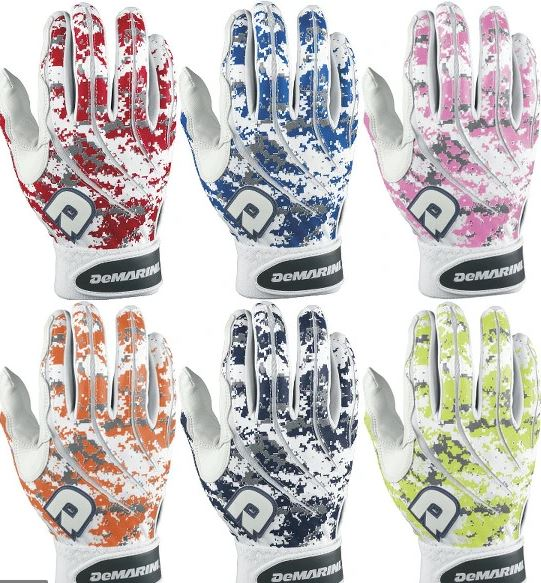 DeMarini Digi Camo Batting Gloves (Available in 5 Colors)