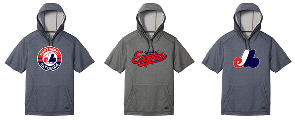 Expos New Era Short Sleeved Hoodie