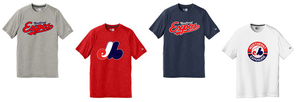 Expos New Era® Men's Series Performance Crew Tee
