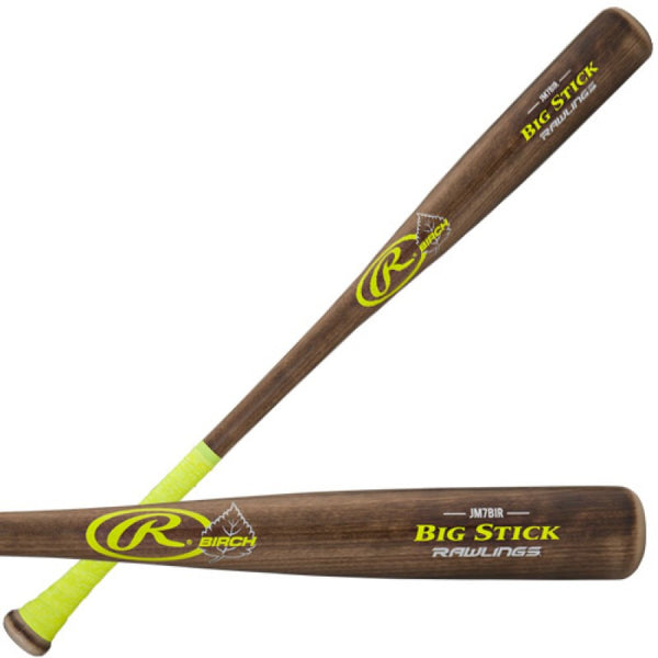 Joe Mauer Rawlings Big Stick Birch Wood Baseball Bat