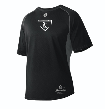 Black & Blue Short Sleeved DeMarini Game Day Shirt