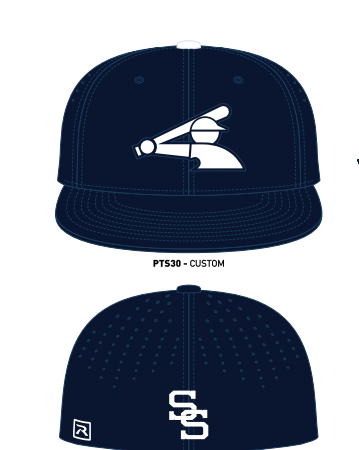 Stripes & Strikes Legion Hat (Navy & White)
