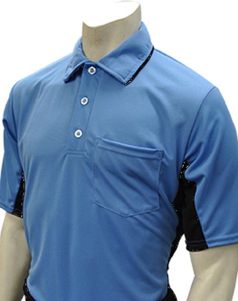 Smitty MLB Short Sleeved Umpire Shirt - Sky Blue