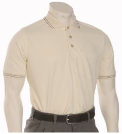 Smitty Traditional Performance Mesh Umpire Shirt - Cream
