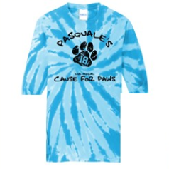Cause for Paws tie dye Shirt