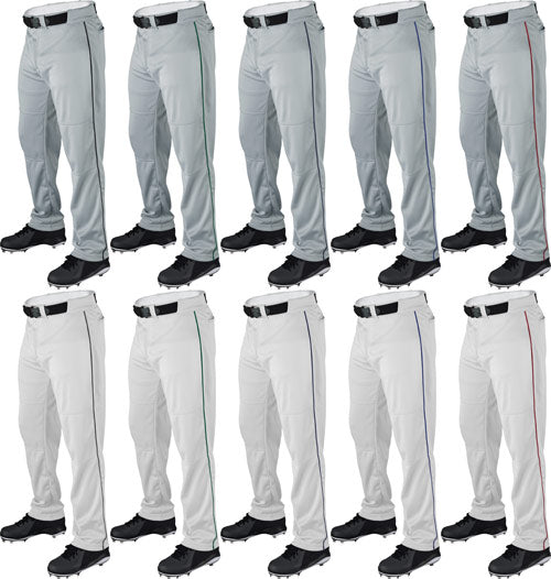 WILSON RELAXED FIT BASEBALL PANTS WITH PIPING
