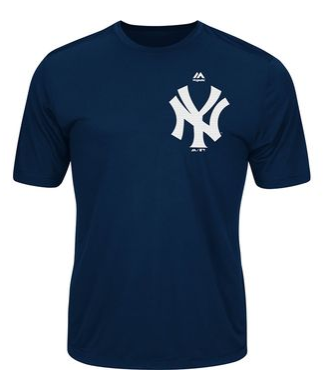 New York Yankees Dri Fit Evolution Shirt